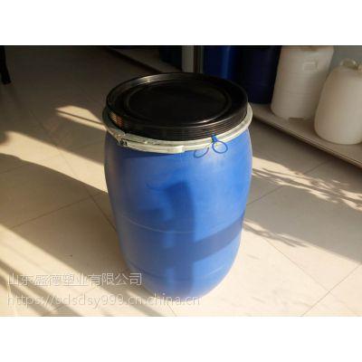 抱箍桶 塑料桶50升 50L大口桶50公斤法兰桶生产厂家 价格