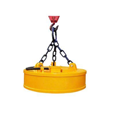 吸吊铸铁锭电磁吸盘 铸造厂杂铁废钢电磁铁直径70