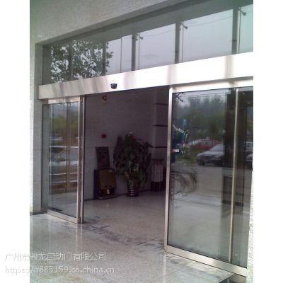 广宁维修感应玻璃门,便利店感应门