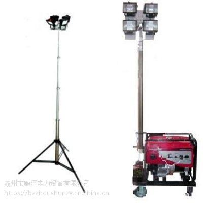 厂家直销WJ880A 全方位自动升降泛光 工作灯 应急抢险移动照明车顺泽电力