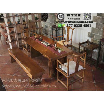 天津咖啡厅一桌四椅餐桌餐椅,餐桌椅尺寸可定做,来样定制