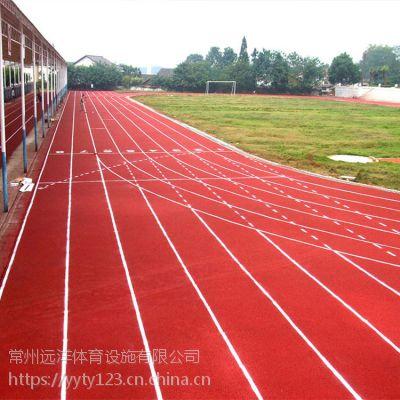 安徽学校环保塑胶跑道操场透气透水塑胶跑道优质材料厂家热销