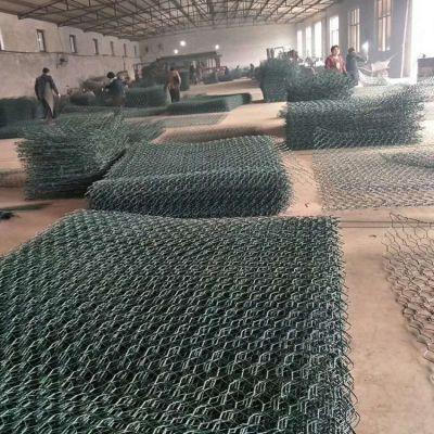 矽胶涂塑石笼网