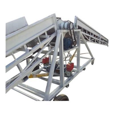 固定带式输送机设备 通用带式运输机 大倾角爬坡式皮带机