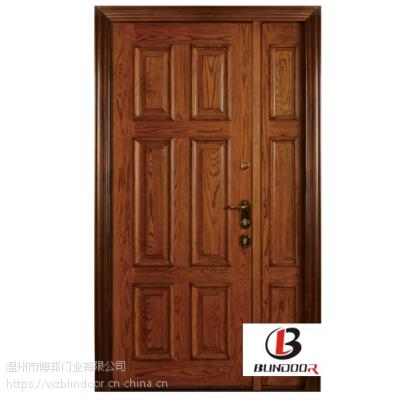 温州博邦门业优质意式纯手工木门 中意合资装甲门
