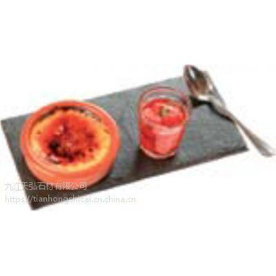 出售 天然石材餐托,板岩碗垫,板岩碟垫,板岩 青石板 板岩杯垫厂家