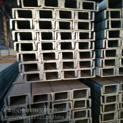 Q235B钢材12号镀锌槽钢 120*53国标U型槽钢 槽钢 C型槽钢楼梯阁楼