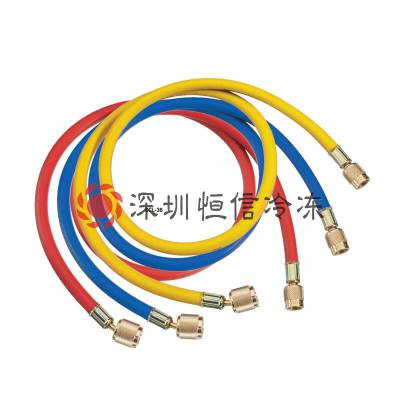 REFCO威科制冷空调加氟软管CCL-36/CCL-60/CCL-72红黄蓝三色软管雪种软管