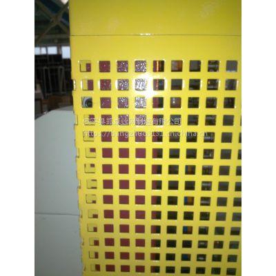 河北安平邦卓丝网专业生产三角型卷带冲孔网 金属板网