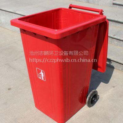 铁质镀锌板垃圾桶 铁制挂车桶生产厂家