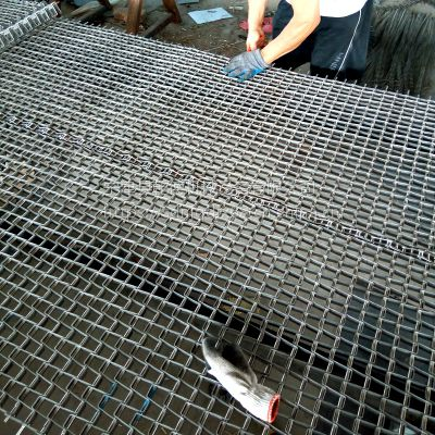 304不锈钢冷却网带乾德厂家食品输送网带马蹄链生产