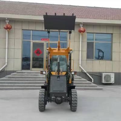 厂家直供ZL10小型轮式装载机志成牌农用单缸小铲车工地用四驱铲土推土机