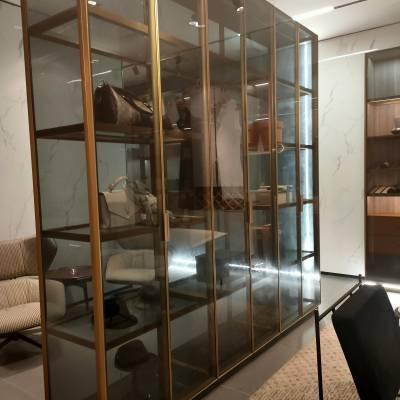 广东全铝橱柜 衣柜 浴室柜 电视柜 圆弧床头柜铝材创万嘉全铝家居