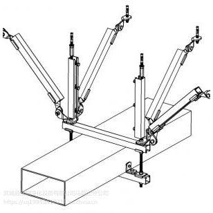 DN150 多管抗震支架双侧抗震支架侧纵抗震支架