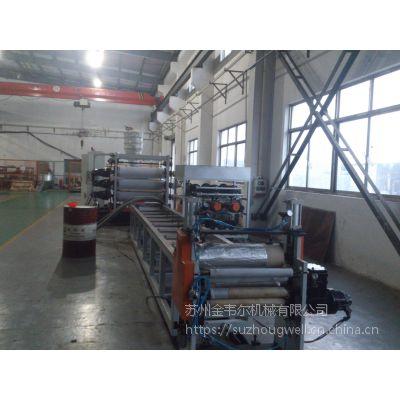 金韦尔超透明PVC软板材生产线