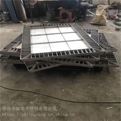 泰州耀荣 小区不锈钢井盖—厂家价格