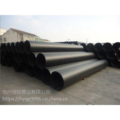 DN300中空壁缠绕管克拉管低价优惠