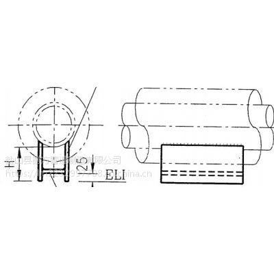 J5H型管托(焊接型)