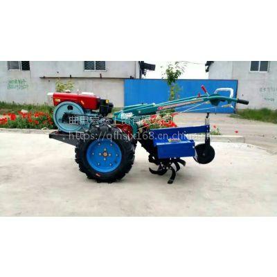 带尾座式手扶拖拉机大棚专用手扶拖拉机旋耕机