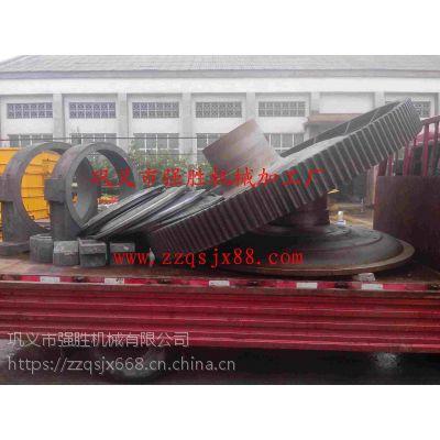 φ2.4米球磨机大齿轮快速定做 φ2.4米球磨机大齿轮厂家直销