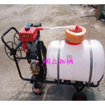 高远程果树农药喷雾器 拉管式300升农药机 卷盘拉管庭院喷雾器