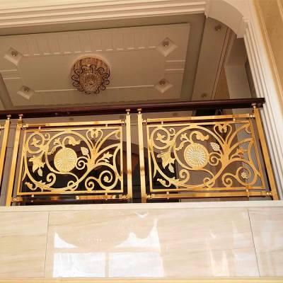 旋转系列工程楼梯扶手人工打造楼梯护栏栏杆厂家溢升