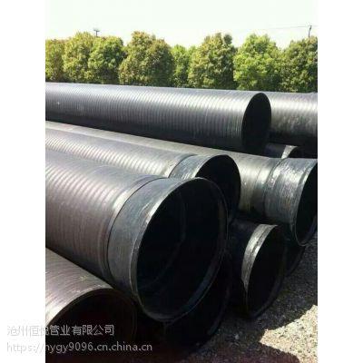河北HDPE中空壁缠绕管2017新年报价