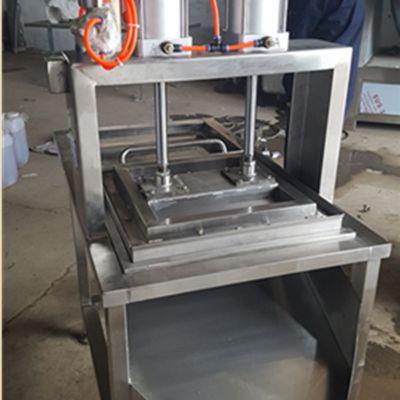 诸城厂家直销全自动气压豆腐切块机 304切豆腐机气压分块机