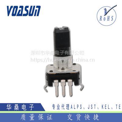现货供应ALPS绝缘轴型编码器 原装进口EC12E24204A8ALPS编码器