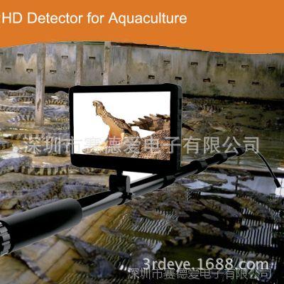 新品 5米伸缩杆1080P防水高清视频检测系统 屋顶/烟囱/水底检测