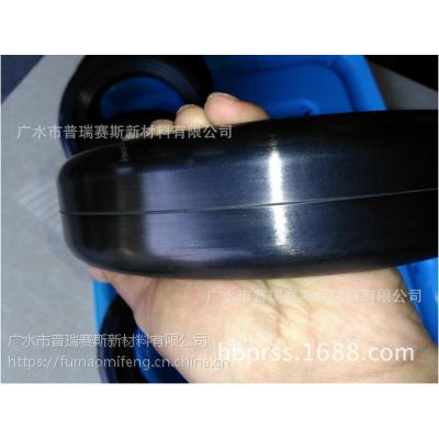 清扫车轮子 扫地车橡胶轮 230mm超耐磨夹板轮 吸尘扫地车滚轮