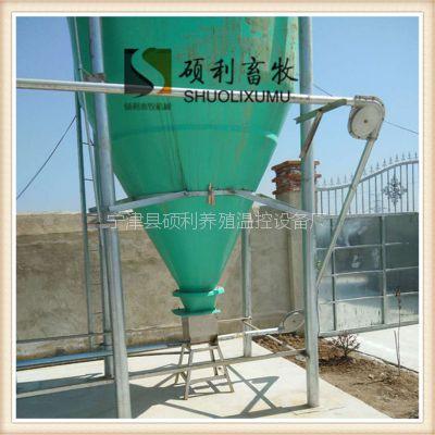养育肥猪自动喂料线采用镀锌和不锈钢材料养猪全自动饲喂料线