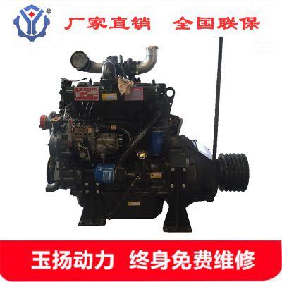 佛山R4105ZP四缸水冷柴油机 配套潍柴60千瓦粉碎机木屑机用柴油发动机 厂家直销