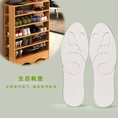 纯天然蛭石硅藻土环保鞋垫生态除湿除味鞋垫吸汗除臭抗菌生态鞋垫