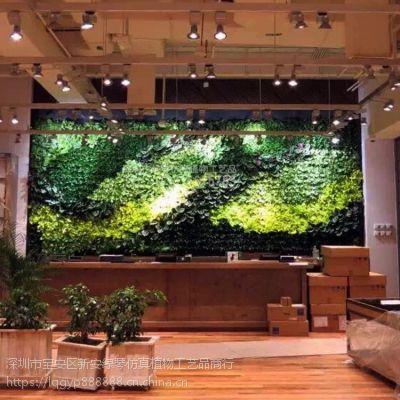 深圳绿琴厂家批发 仿真植物墙 人造假绿植墙 酒店美化装修 绢布装饰假花假叶子