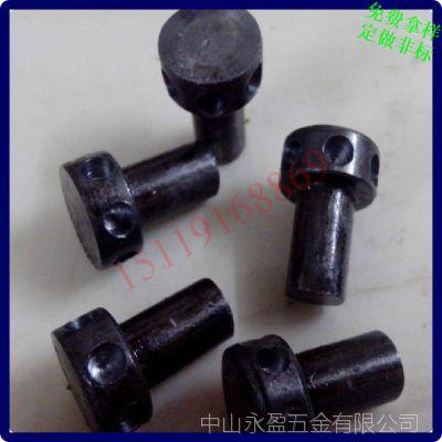 圆柱头钻孔铆钉 钻孔头铆钉 生产加工定做 台山铆钉厂
