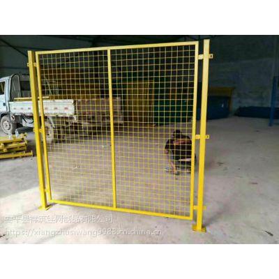 上街区祥筑丝网厂家直销车间隔离栅、浸塑防护网、、框架护栏网、