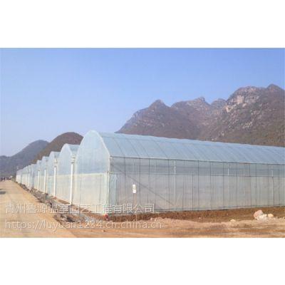 四川南充玻璃大棚内保温双层保温安装施工建设厂家