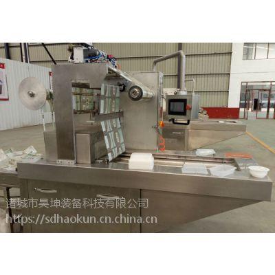 供应潍坊昊坤气调全自动连续盒式真空包装机