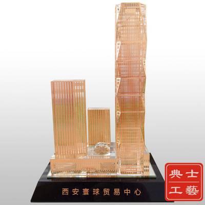 广州市厂家设计定做地产公司大楼模型礼品,科研大楼模型礼品,酒店大楼模型摆件