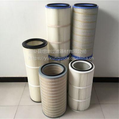 3260无纺布除尘器滤筒,集尘收尘聚酯滤筒,工业环保粉尘滤筒,滤芯