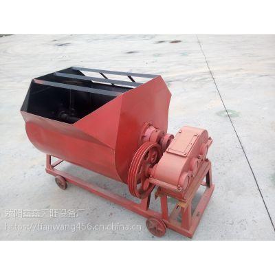 西昌天旺350-500砂浆搅拌机侧翻手动出料