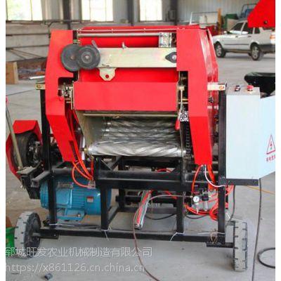 热卖秸秆收获机 拖拉机牵引式圆捆打捆机 后置悬挂式打捆机