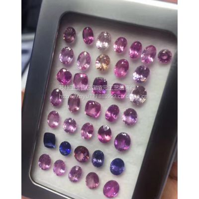 批发供应各种形状大小颜色彩色蓝宝石supply colored sapphire