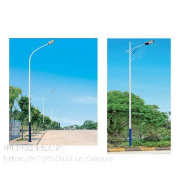 广东LED路灯厂家鑫永虹照明大量现货供应高亮度6米30瓦LED路灯