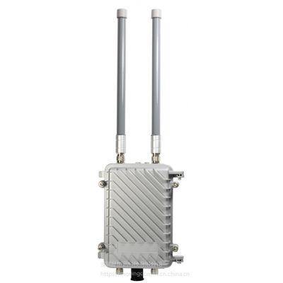 室外大功率防水AP四通道WiFi数据采集器