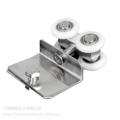 上海维修老式弧形淋浴房 更换浴室移门铜弹跳双滑轮