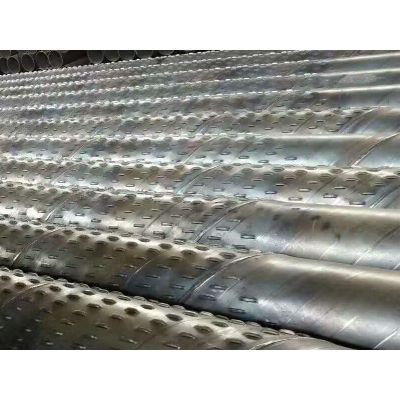 降水井用钢219滤管(井管)井壁管 实管 井管缠绕无纺布