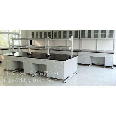 钢木实验台 实验室实验台-信凯(北京)科技有限公司18mm厚三聚氰胺板