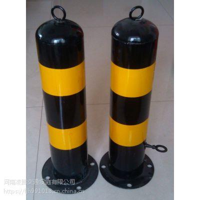 钢管警示柱防撞柱固定立柱塑料反光警示柱停车场防护路桩